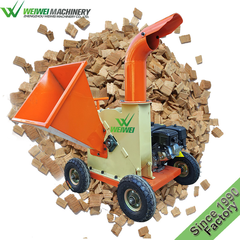 Weiwei sawdust mill used small industrial wood chippers