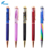 Creative gold powder gold foil oil floating pen advertising promotion gift pen business office multicolor meta pen