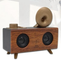 RTS new-style Top-selling Creative radio wood retro 10w wireless speaker indoor