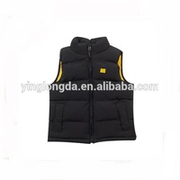 Quality latest polyester warmer unisex vest