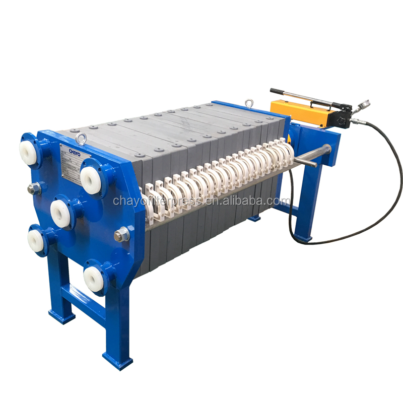 Manual Filter Press,Plates Press Operation by Manual <strong>J</strong> Press Hydraulic System