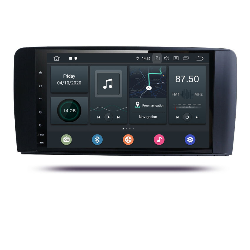 KANOR 9'inch <strong>android</strong> 10 rockchip px6 car video navigation for mercedes benz ml-class <strong>w164</strong> <strong>android</strong> radio gps wifi BT2005-2012