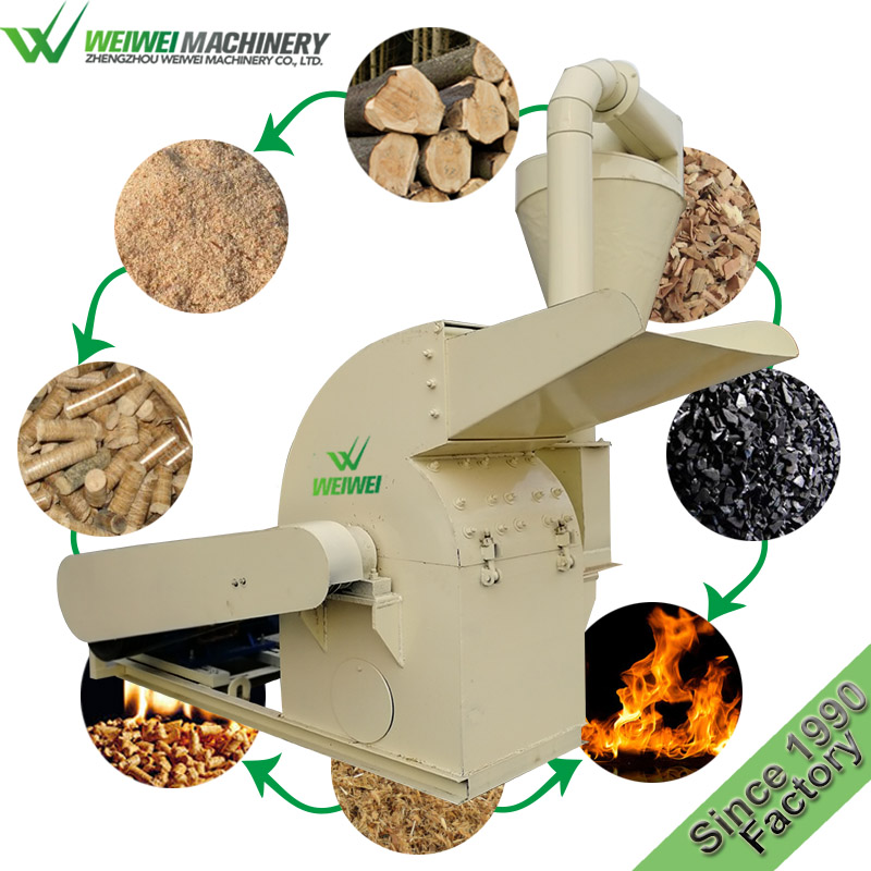 Weiwei 1t chips making wood industrial machine
