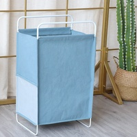 Cloth dirty basket folding bracket dirty clothes collection basket household laundry basket