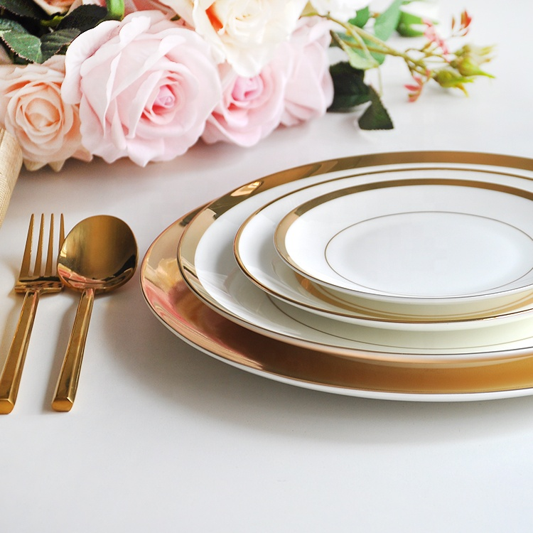 Hot sale factory direct ceramic bone china dinner <strong>plates</strong> for sale