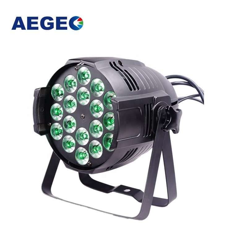 LED Par Lights 18 x 15 <strong>W</strong> RGBWA 5 in 1 Par Can Dj Par Light Show