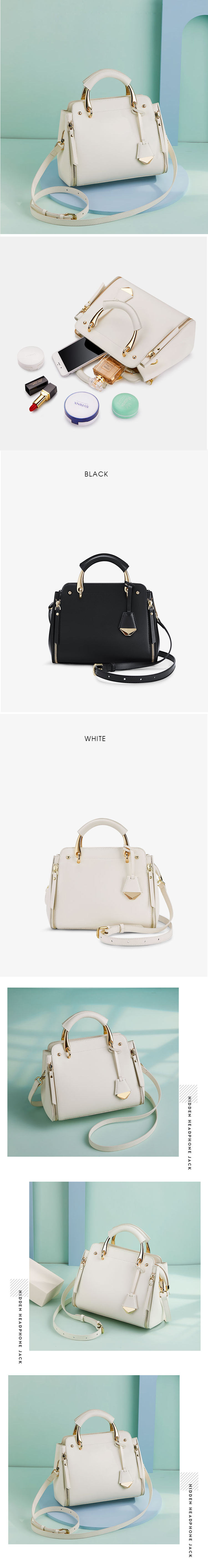 Accept Customized Logo Women Tassel Shoulder Bags Luxury Leather Handbags Solid Color Crossbody Bags For Women Female Handbag