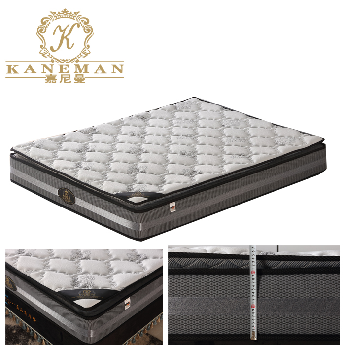 best selling hotel pocket coil spring mattress compressed in a box - Jozy Mattress | Jozy.net