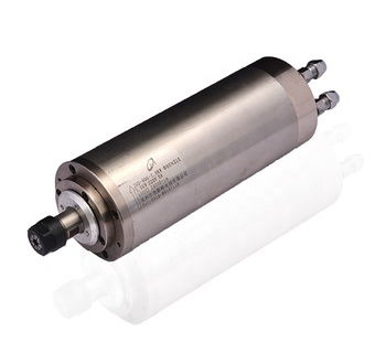800W water cooling CNC spindle motor with ER11,65mm OD, 24000RPM, cnc spare parts