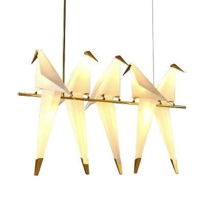 Nordic style acrylic hotel restaurant bird decoration <strong>lamps</strong>