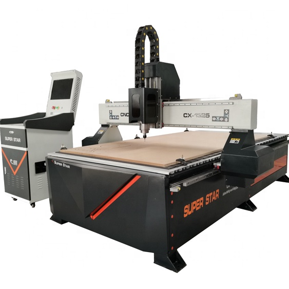 Jinan superstar cnc router wood router woodworking machinery cnc 1325 router machine