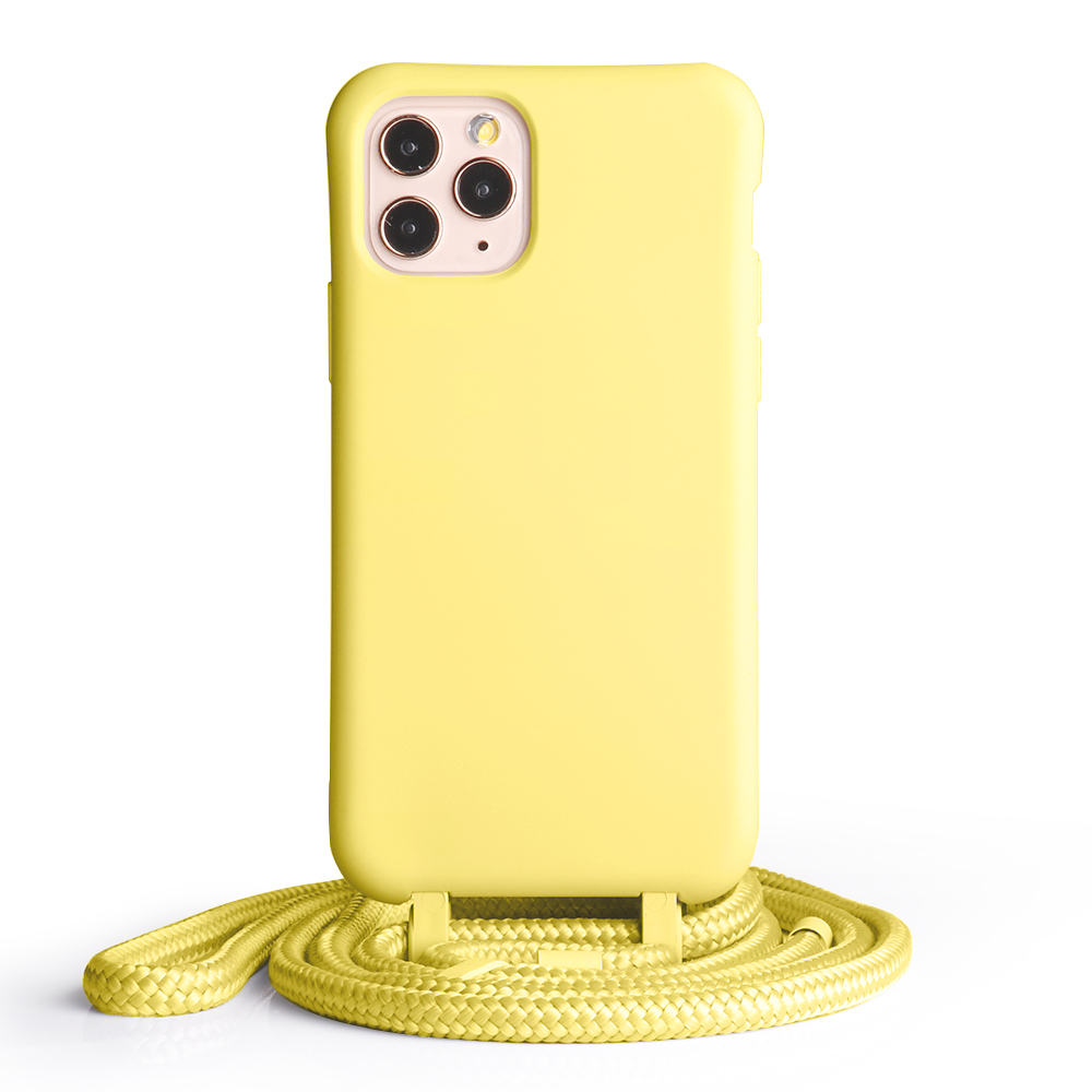 Aamzon Hot Sale Silicon Detachable Necklace Smartphone Phone <strong>Case</strong> for IPhone 11 Pro Max Crossbody <strong>case</strong> with straps chain ropes