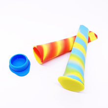Reusable Popsicle Molds Ice Pop Molds Maker Baby Kid Infant <strong>W</strong>/Drip Catcher Healthy Fruit Snack Food Grade Silicone BPA Free