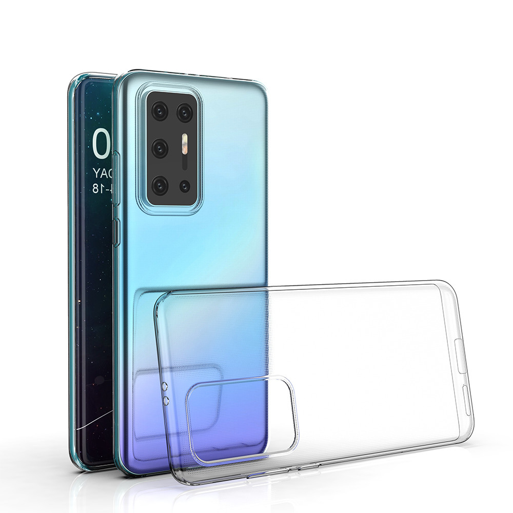 For Huawei P40 Lite Pro <strong>P</strong> Smart plus 2019 Nova 5T Cover TPU Transparent Phone Case