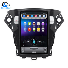 12.8 inch 4G Lte 32G ROM Vertical screen android multimedia video radio player for Ford mondeo 2007-2010 years navigation stereo