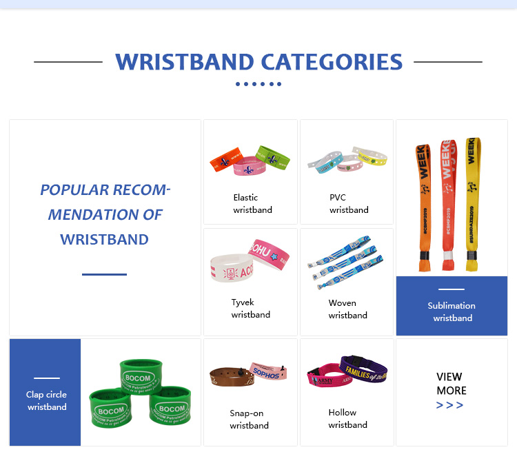 wholesale full color  blank  woven fabric festival polyester wristband with slide lock