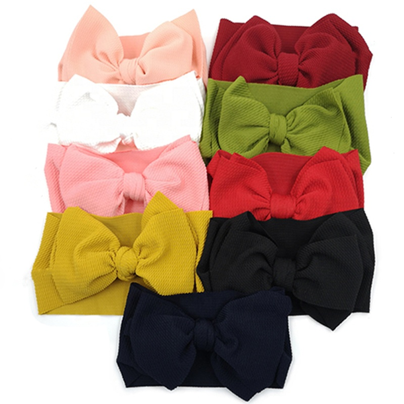 2020 New Fashionable Elastic Ribbon Hairbands for Baby Girls <strong>hair</strong> <strong>accessories</strong> Cute Headband Turban Knotted Soft Newborn