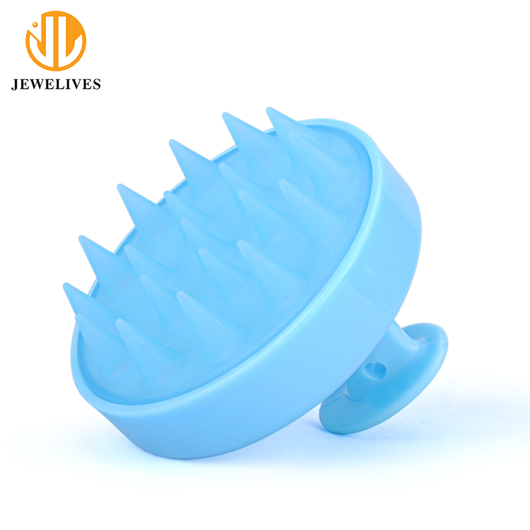 Colorful Soft Silicone Bath Shower Massage Body Cleaning Wash Shampoo Brush