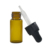 free sample customized cosmetic tube essential oil clear amber 3ml 5ml glass vial bottle with dropper