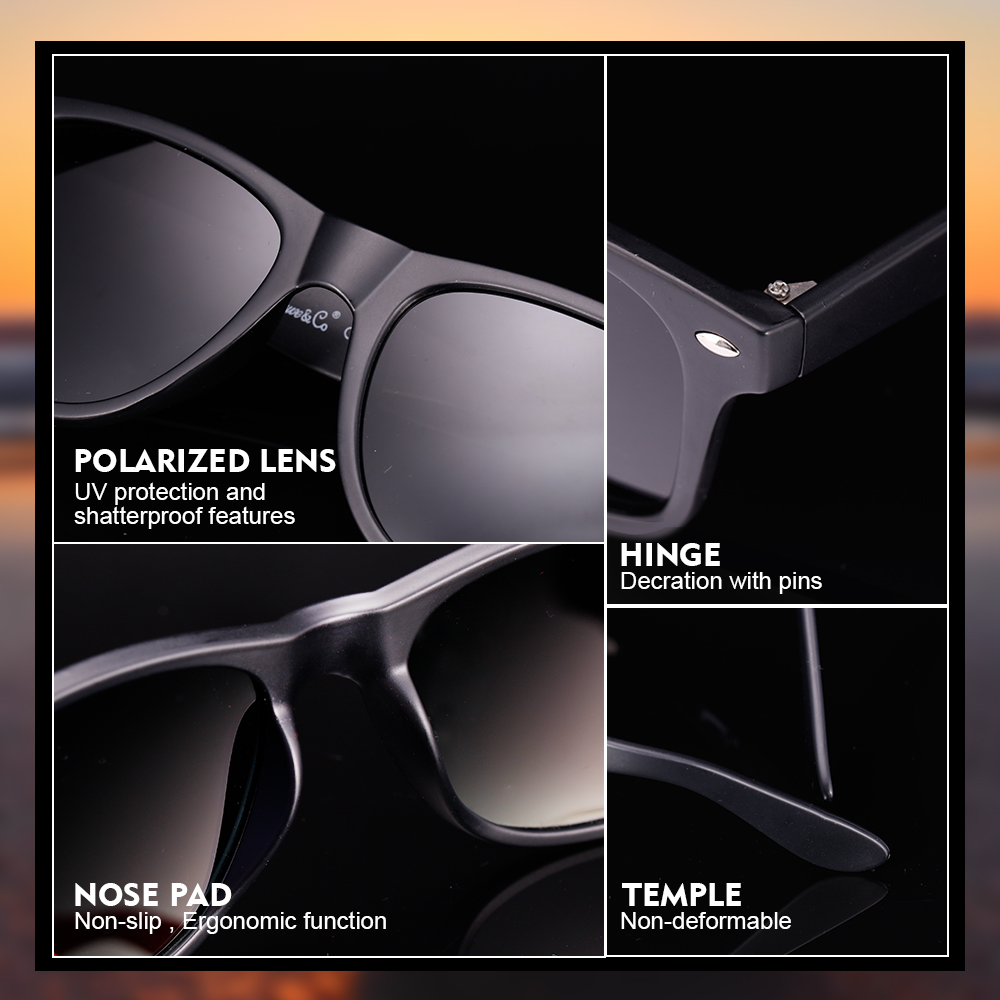 Hot Selling Sun Glasses Sunglasses Shades ,Plastic Frame Sunglasses with Logo , Free Shipping to USA