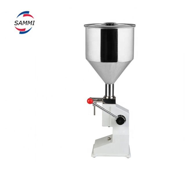 Hot Sale <strong>A03</strong> Manual filling machine for cream,shampoo, cosmetic, bakery cream filling machine