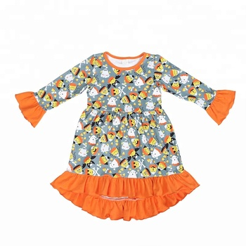 2019 Halloween baby clothing children clothes girl dress