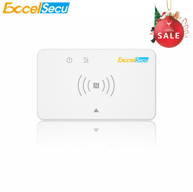 Christmas Promotion! USB 2.0 NFC Wireless Dual Interface Smart <strong>Card</strong> Reader 20pcs/lot