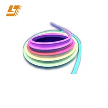 waterproof ip65 <strong>rgb</strong> 3V glass tube neon sign for shape soft advertising neon light