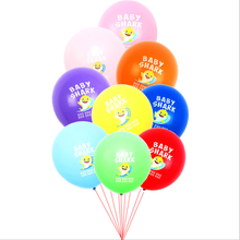 <strong>12</strong> inch 2.8 g cute little shark latex balloon children party decorations
