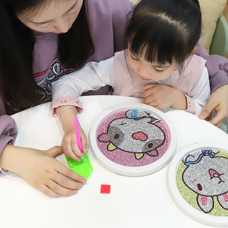 High-quality 5D DIY Rhinestones <strong>Picture</strong> with Frame Diamond Painting Kids Art Kits