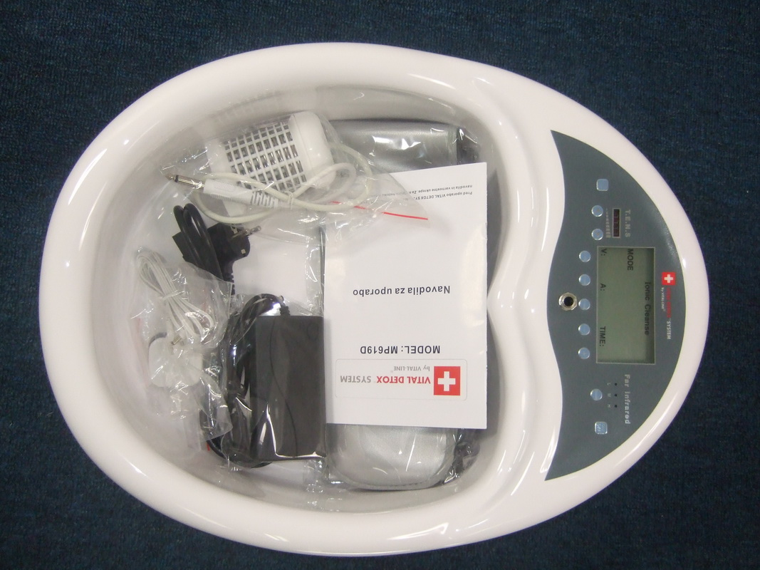 high-tech ionizer machine water detoxification detox foot machine