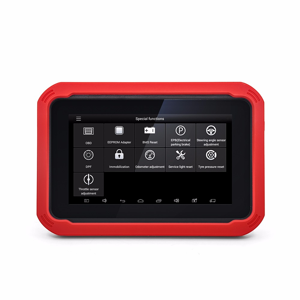 Newest <strong>100</strong>% Original OBD2 XTOOL X100 PAD <strong>X</strong> <strong>100</strong> Auto Car Key Programmer with EEPROM adapter Support oil rest&amp;Odometer Adjustment