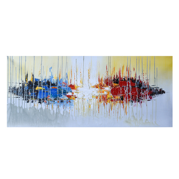 Dropship Liquid Acrylic Art Pictures Custom Design Abstract Oil Painting for Home Decoration