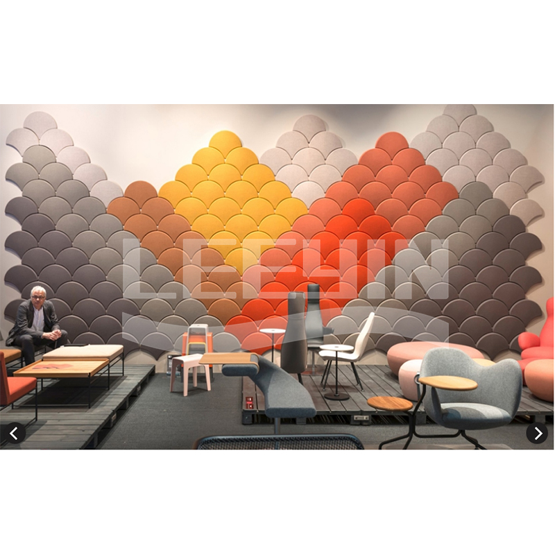 10% discount 3d decoration polyester fiber acoustic <strong>panel</strong> for construction