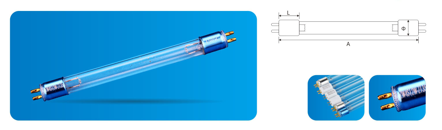 High-purity quartz glass UV lamp for small appliances price