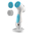 High Class professional electric waterproof battery operated silicone facial cleansing brush