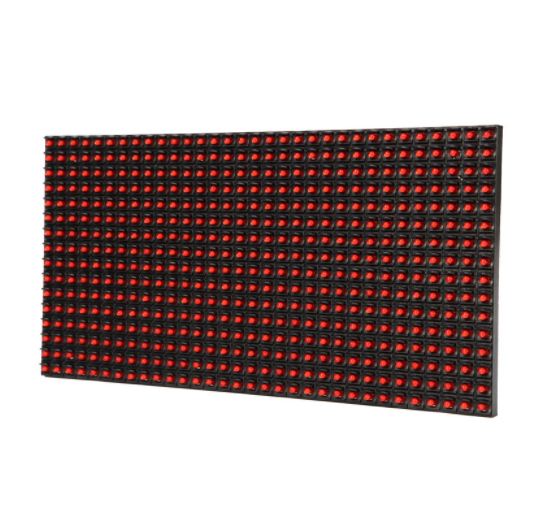 <strong>P10</strong> DIP single red color advertising led modules display programmable DIP <strong>p10</strong> single color