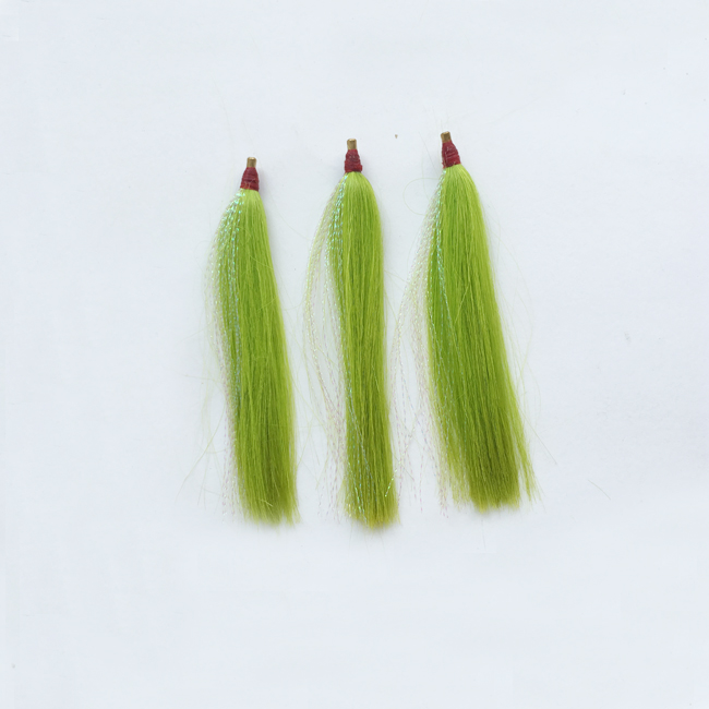Bass bucktail teaser saltwater fishing duster lure