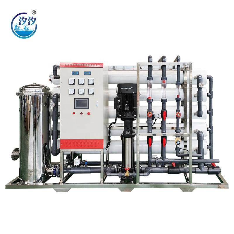 7 Stages RO Water Treatment Machine Drinking Water Purifier 500lph