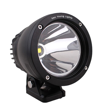 Canons LED work light 25W for Vehicle Offroad C-rees LED driving light 4 inch led panel light 25W