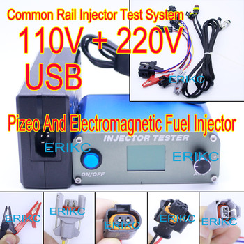 ERIKC common rail injector test bench , High Pressure injector tester , Common Rail Diesel Fuel Injector Detector