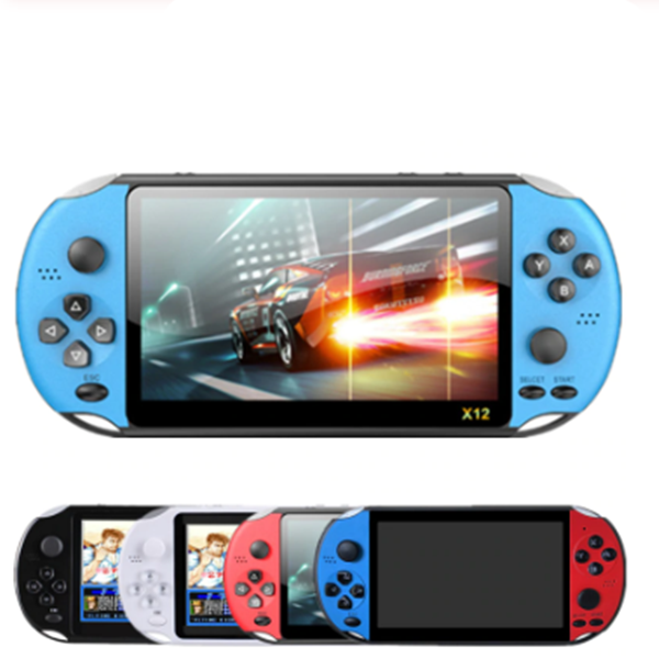 <strong>X12</strong> Handheld Game Player 8G 32/64/128 Bit HD Color <strong>LCD</strong> Screen 3000 Games Video Game Console Gaming Console