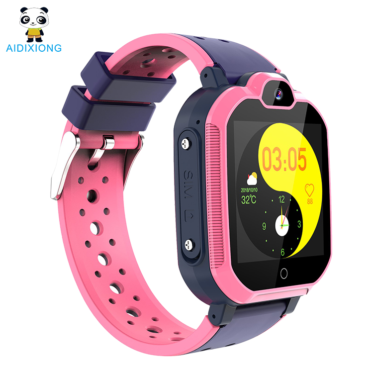 4G ITE Smart Children Watch <strong>Camera</strong> 4G Flash Light Touch Screen SOS Call GPS Location Finder For Child