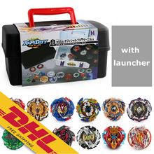 Beyblades Case 12Pcs Tops And 2 Launchers Inside Battle Tops Box Storage Carrying Box For Beyblades Burst Battling Games