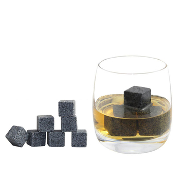 Wine Stones for Whiskey and other Beverages Natural Stone Recycled Ice Stone Creative gifts