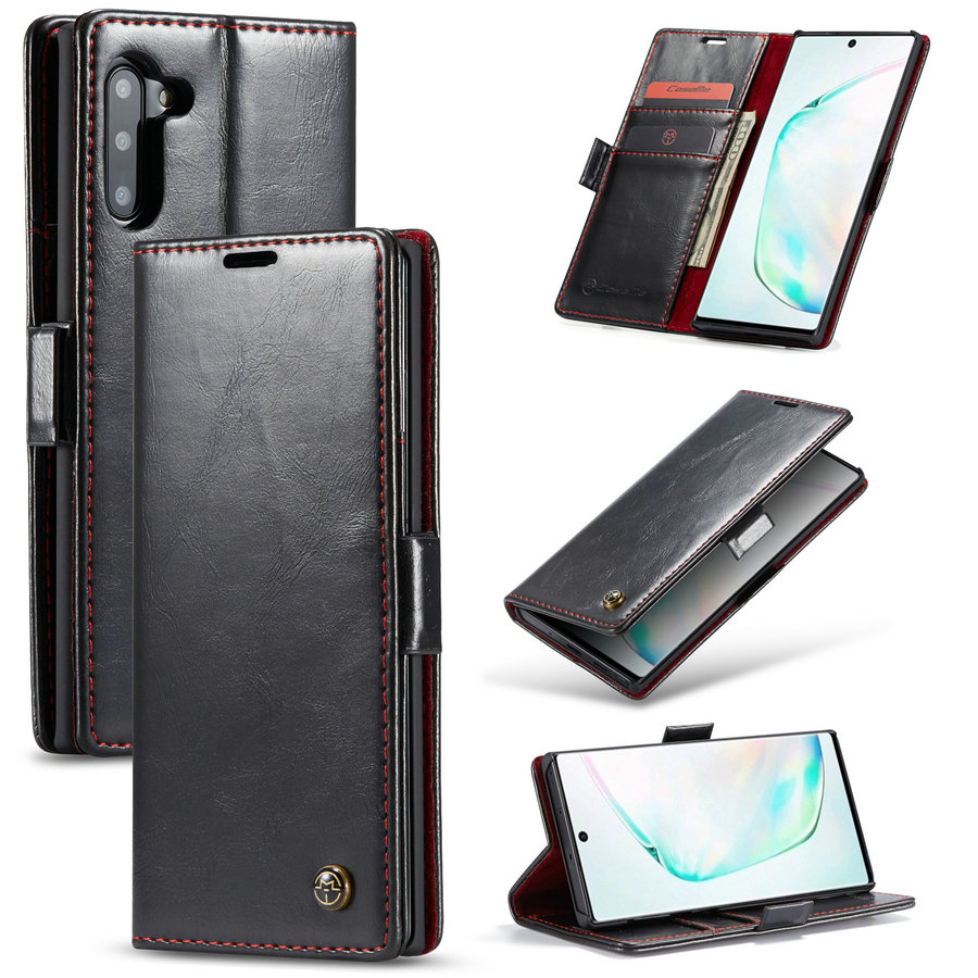 CaseMe Luxury Magnetic Wallet Leather Case For Samsung Galaxy Note 10 / Note 10 Plus