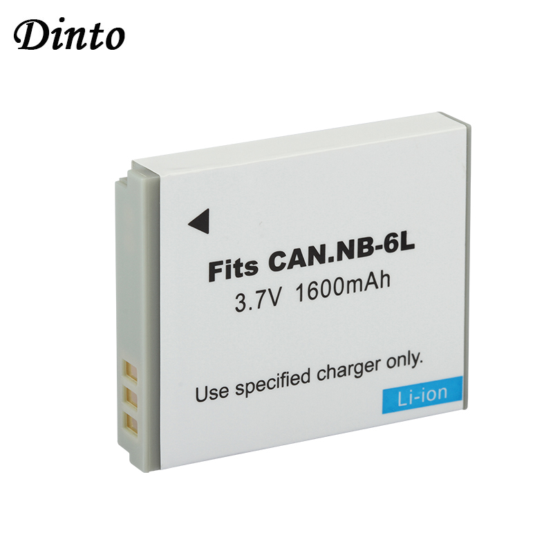 NEW 1600mAh 3.7V Rechargeable Li-ion Battery NB-6LH NB-6L NB6L Digital <strong>Camera</strong> Battery for Canon PowerShot S90 SD770 <strong>D10</strong>