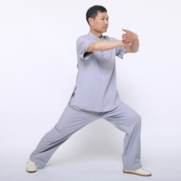 Tai Chi Wear Kimono Shaolin Chinese Traditional Kung Fu Clothes Uniforms For Men