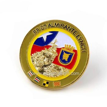 high quality custom 3d gold metal coins souvenir for sale