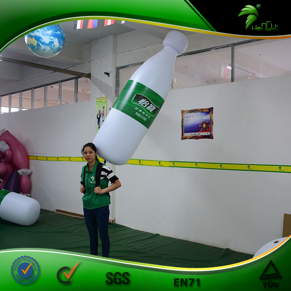 Giant Inflatable Model, Inflatable Backpack Bottle Replica